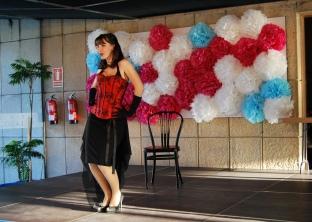 Salón de Tendencias Vintage Valladolid. Actuación de burlesque